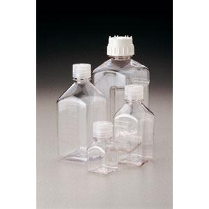 Sterile square media bottles