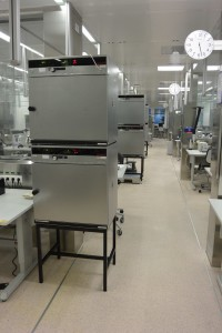 The MED-EL manufacturing facility in Austria uses memmert ovens for secure, accurate curing of silicone and adhesives for cochlear implants