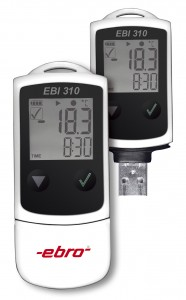 EBI 310 datalogger units with and without cap