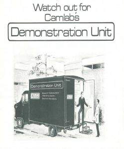 Camlab Demo-Van 1950