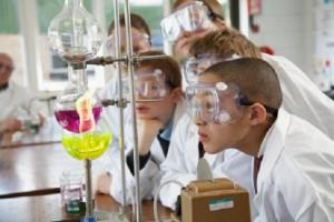 school science experiment