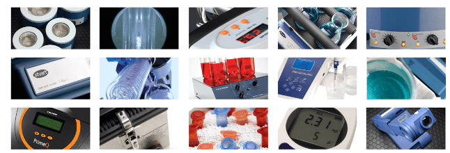 Bibby Scientific products montage
