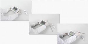 FiveEasy meter electrode arm storage