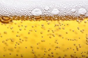 Beer bubbles picture