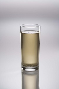 cloudy water from suspended solids