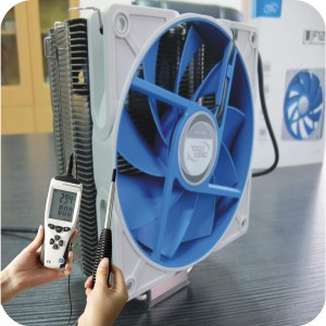 Hot wire anemometer monitoring HVAC system
