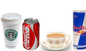 caffeine containing drinks