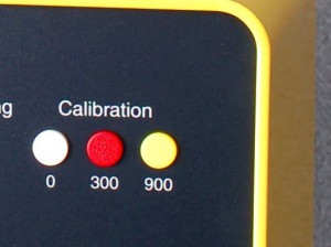 Osmometer Type 6 calibration buttons