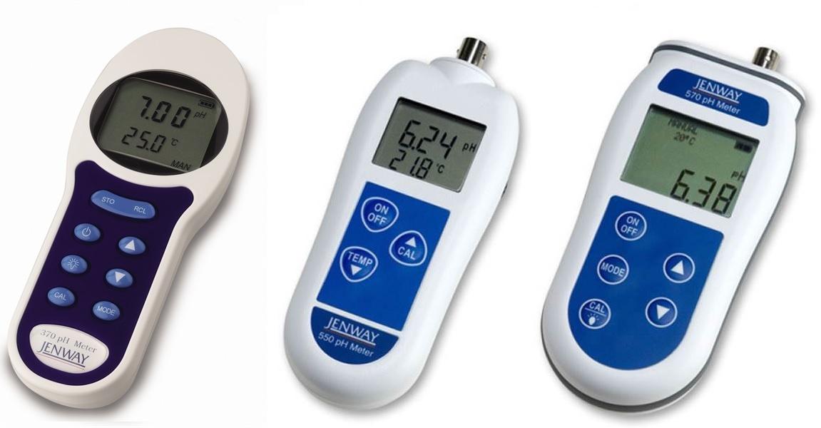 handheld pH meters by Jenway
