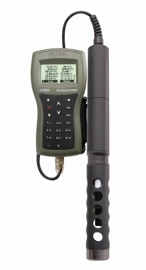 Hanna HI-9829 Advanced GPS meter