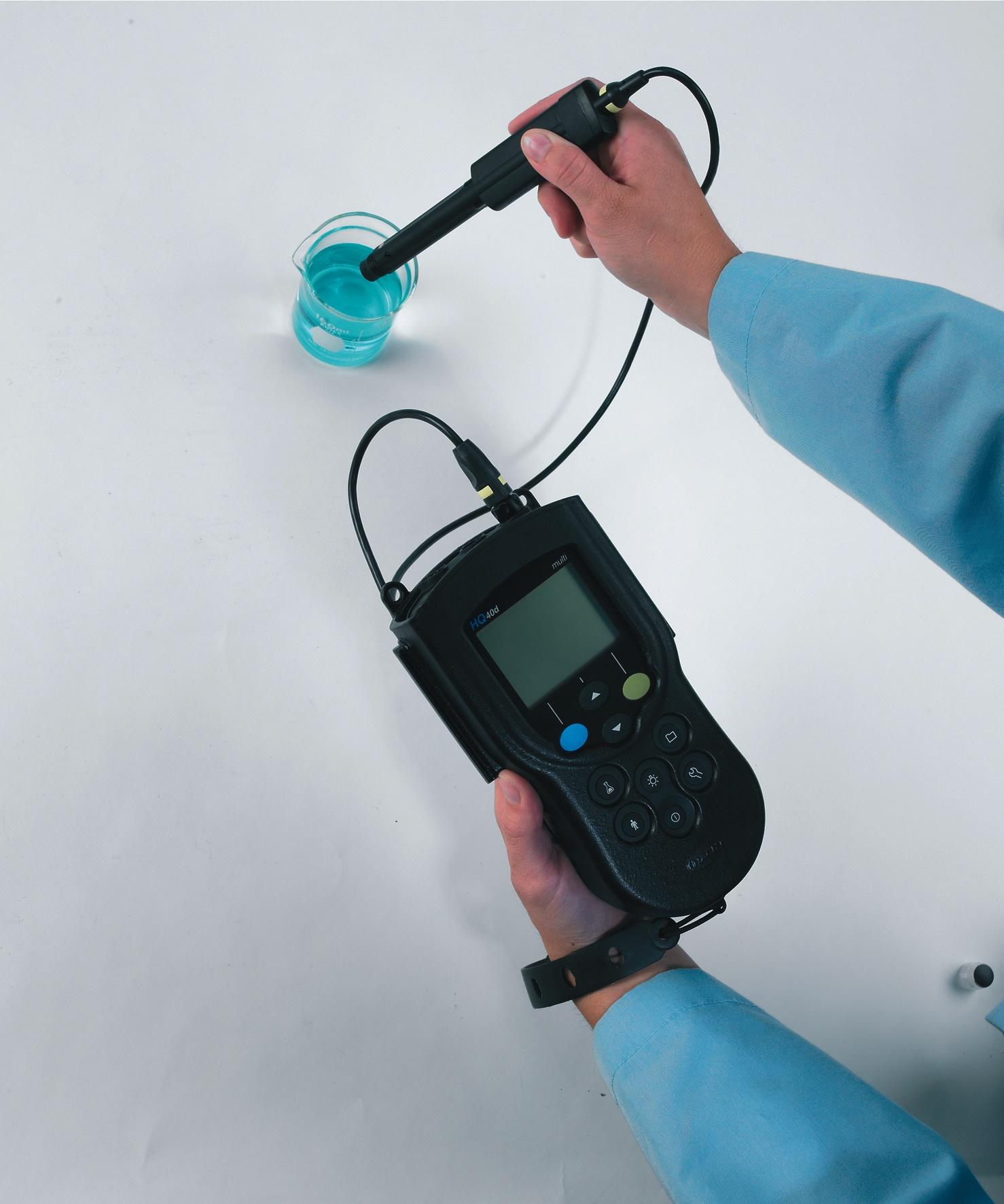 HQ40D meter in use