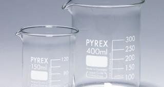 Pyrex beakers