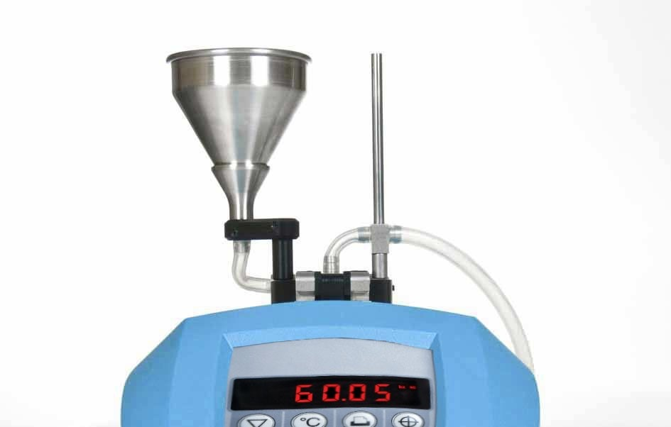 Brix Refractometer Funnel Flow Cell