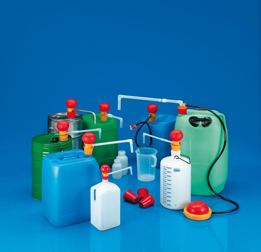 A range of liquid dispensing pumps from Burkle