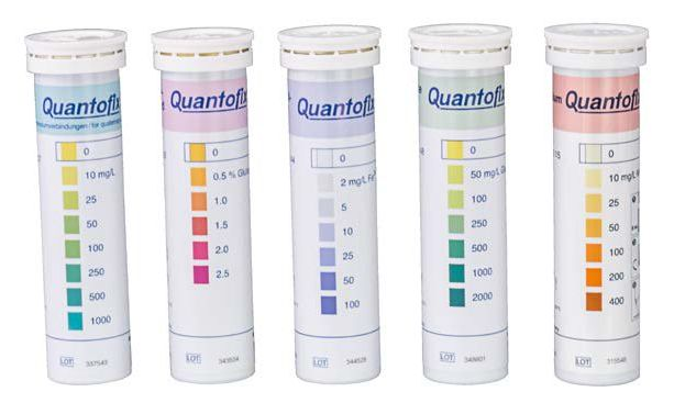 Quantofix test strips for water testing - quick, easy and accurate - The Laboratory People