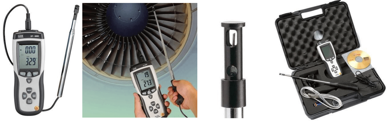 ATP Hot Wire USB Therm- Anemeter