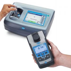 Hach TL23 Series Benchtop meter and 2100Q handheld meter.