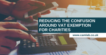 Reducing the confusion around VAT exemption for charities